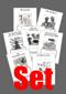 Arbeitsblätter zum Leseverständnis zu den Leseheften von Angelika Vogel